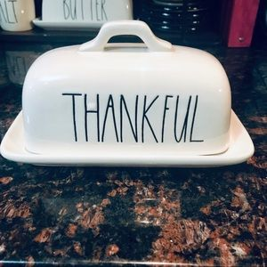 Rae Dunn THANKFUL dish